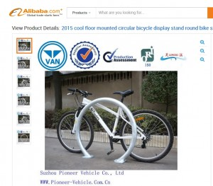 2016-03-27 16_28_30-2015 Cool Floor Mounted Circular Bicycle Display Stand Round Bike Stand With Bes