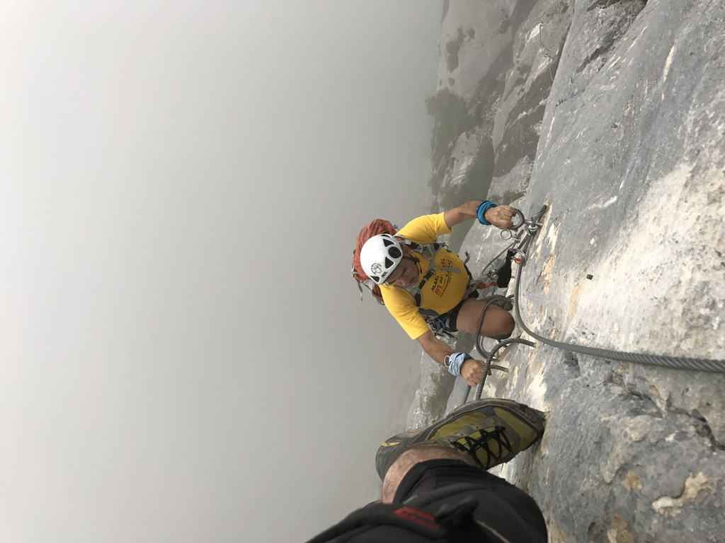 FERRATA ROCHE VEYRANT – FRANCE