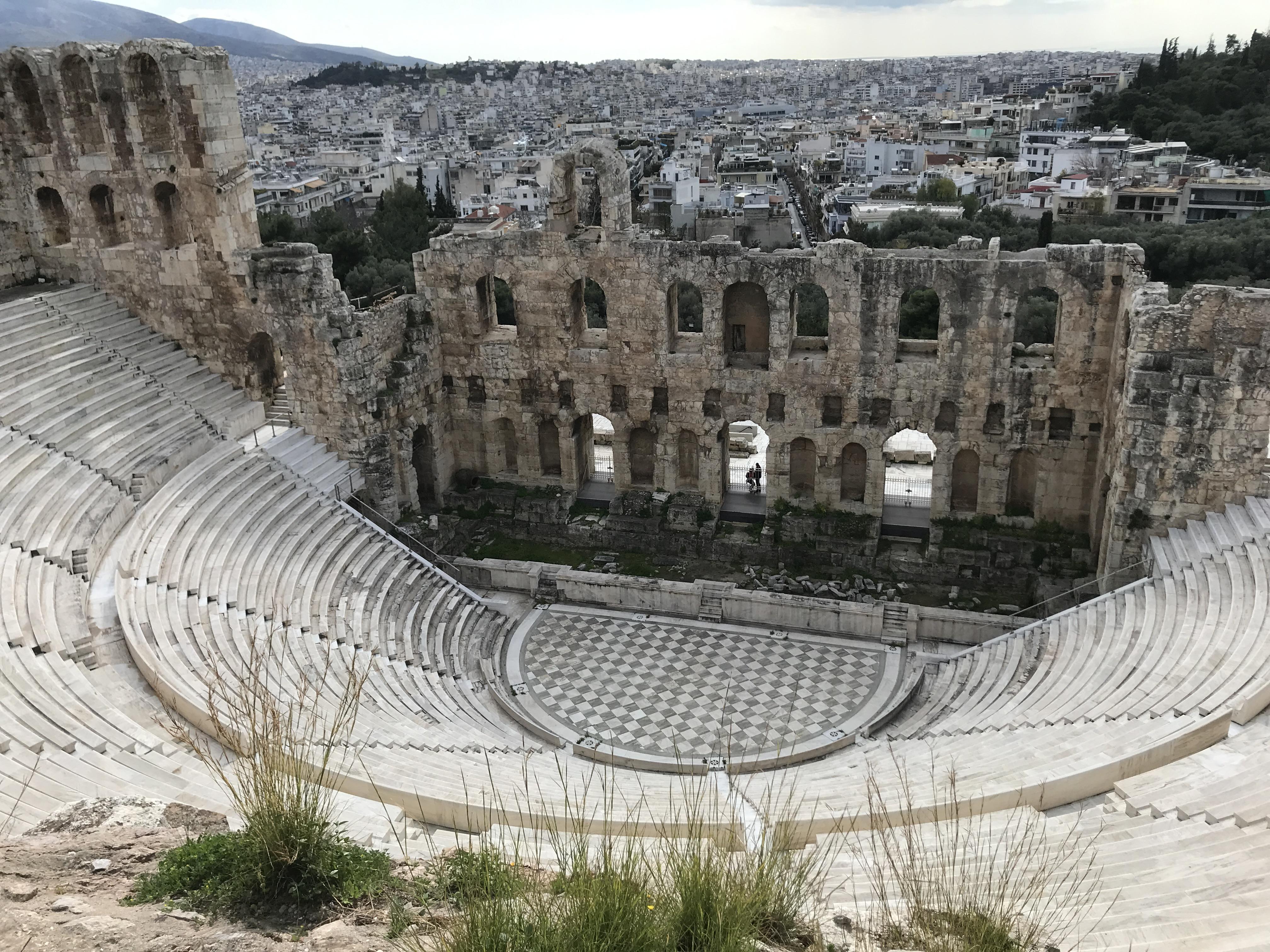 Teatro del Atticus de Herodes
