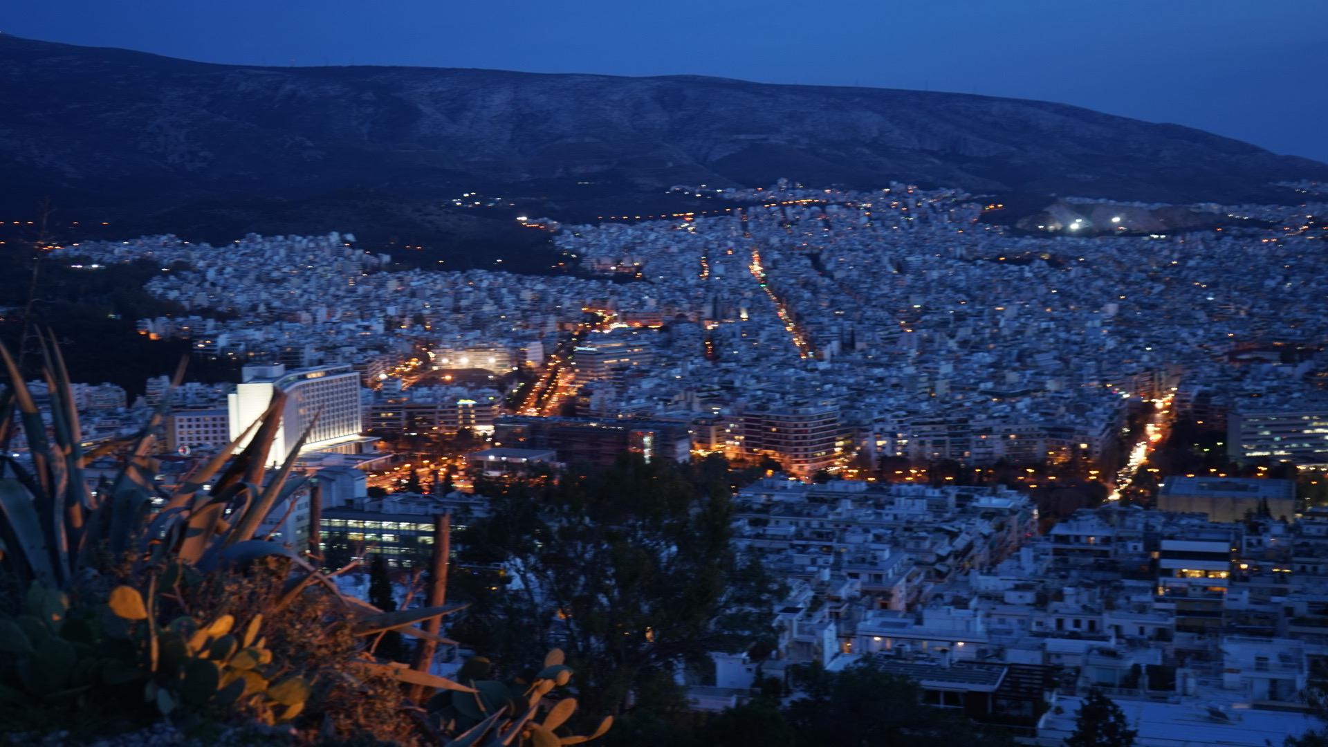ATHENAS | MONTE LICABETO